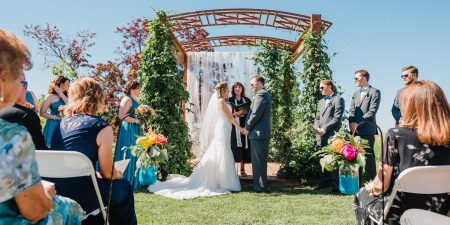 Destination Wedding Officiant | Justin and Jacqueline's Boise Wedding