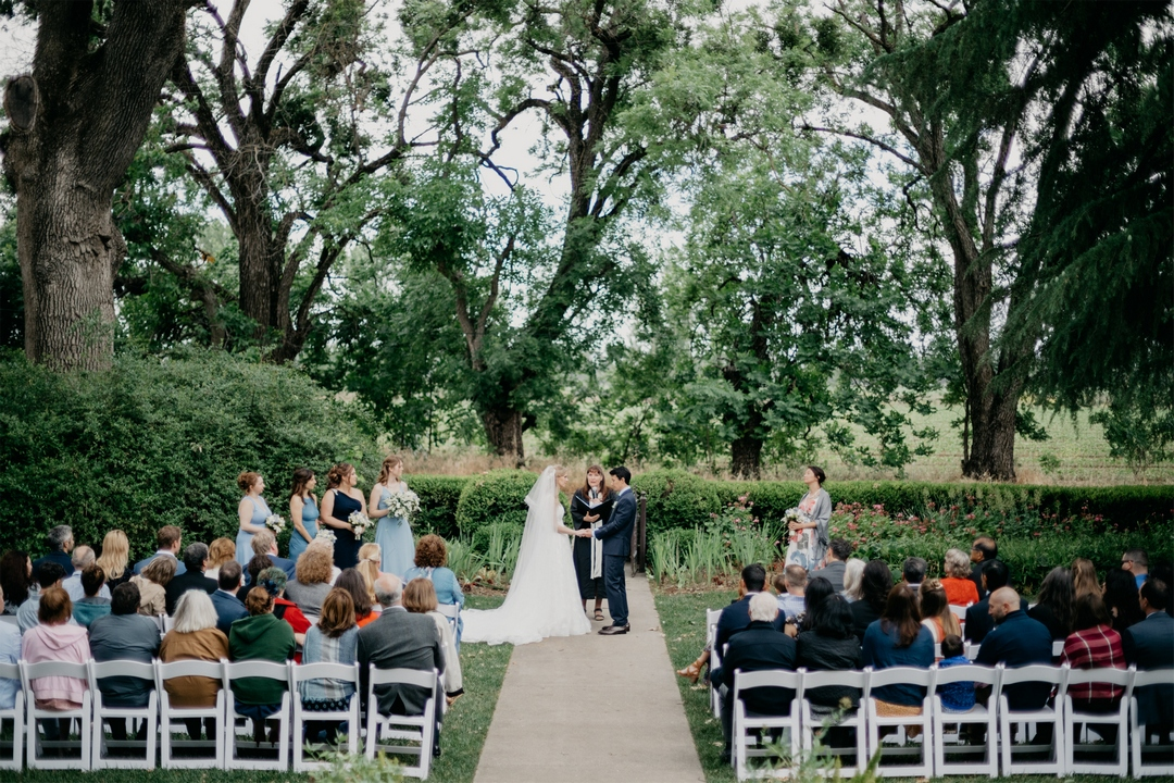 Park Winters, Wedding Venue, Wedding Ceremony, garden wedding, wedding officiant, bride, groom